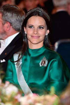 Princess Sofia of Sweden attends the Nobel Prize Banquet 2015 at City Hall on December 10, 2016 in Stockholm, Sweden.  (Photo by Pascal Le Segretain/Getty Images)
