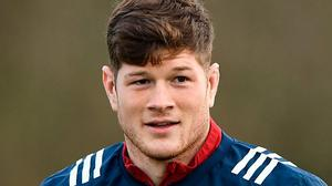 Captain material: Jack O'Donoghue has been talked about as a potential successor to Peter O'Mahony. Photo: Sportsfile