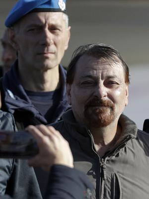 Cesare Battisti was located by intelligence agents after using one of his mobile devices (Gregorio Borgia/AP)