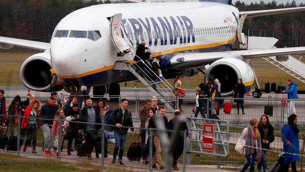 Iseq heavyweight Ryanair in one of the firms which saw big falls in its cash balances largely due to share buyback schemes. Photo: REUTERS