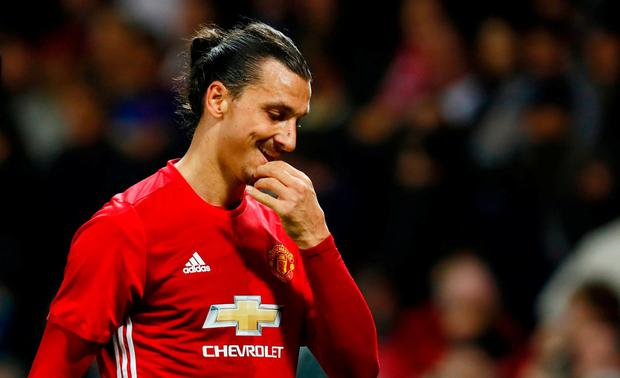 Manchester United's Zlatan Ibrahimovic Action Images via Reuters / Jason Cairnduff