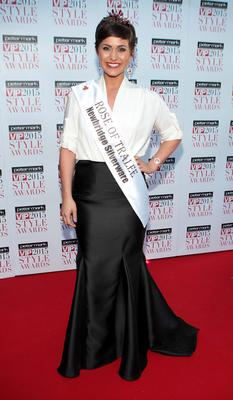 Maria Walsh on the Red Carpet at The Peter Mark VIP Style Awards 2015 at The Marker Hotel,Dublin. Brian McEvoy