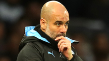 Pep Guardiola has said he will honour his contract at Manchester City. Photo: Getty Images
