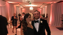 Conor McGregor and partner Dee Devlin. Image: Instagram
