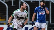 Kevin Murnaghan after scoring the winning point for Moorefield against St Loman's. Photo: Piaras Ó Mídheach/Sportsfile