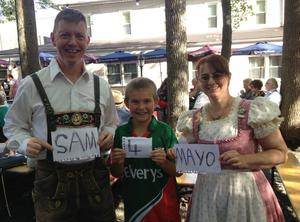 Jack from New Jersey / Ballyhaunis getting the Germans behind Mayo!