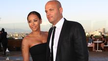 Singer Mel B. and Stephen Belafonte attend the Los Angeles Confidential celebration of the Women of Influence issue with Robin Wright