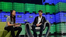Noor Siddiqui and Riley Ennis at the Web Summit (Photo: Sportsfile)