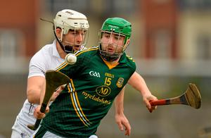 Meath's Willie McGrath in action against Paul Divilly of Kildare
