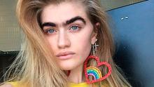 CHOOSE YOUR WEAPONS: Sophia Hadjipanteli, pictured, and artist Frida Kahlo have all used their brows to sometimes, well, eyebrow-raising, effect...