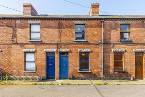 The two-bed redbrick on Healy Street
