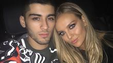 Perrie Edwards and ex fiancé Zayn Malik