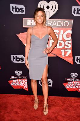 TV personality Becca Tilley attends the 2017 iHeartRadio Music Awards which broadcast live on Turner's TBS, TNT, and truTV at The Forum on March 5, 2017 in Inglewood, California.  (Photo by Alberto E. Rodriguez/Getty Images)