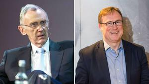 Food Fight: Activists want to remove Gary McGann (left) and would leave Kevin Toland (right) as CEO