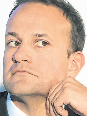 Vying for votes: Leo Varadkar