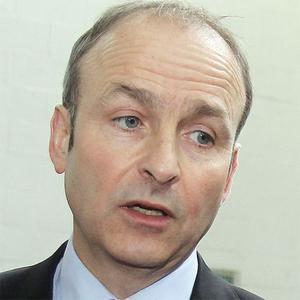 Micheal Martin: accused of breaking commitment