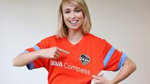 Footballer Stephanie Roche who is moving to Houston Dash