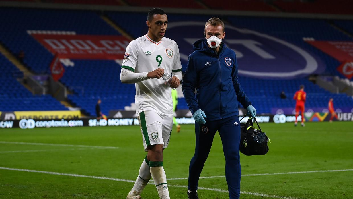 Adam Idah ruled out for 10 weeks after suffering knee injury on Ireland duty