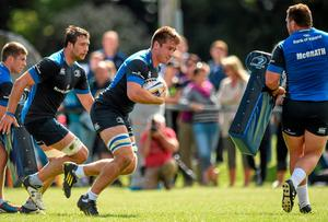 Leinster's Dominic Ryan in action during an open training session in Gorey last month. Picture credit: Matt Browne / SPORTSFILE