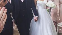 'I Do' - Tommy and Lucy are now man and wife.