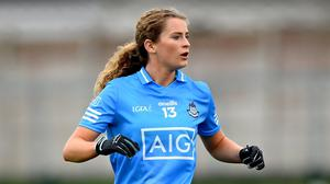 Sarah McCaffrey is glad to be back with Dublin having done some travelling after her supersub role in the 2017 final success. Photo: Sportsfile