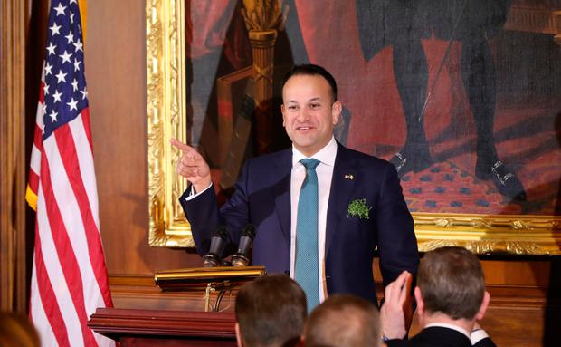Irish Taoiseach Leo Varadkar during the Speaker's Lunch at Capitol Hill in Washington DC, USA. Niall Carson/PA Wire