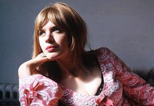 Marianne Faithfull pictured in 1967