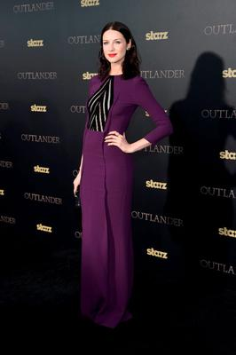"""Actress Caitriona Balfe attends the """"Outlander"""" mid-season New York premiere at Ziegfeld Theater"""
