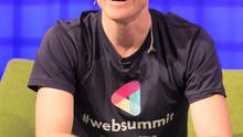 Web Summit Co Founder Paddy Cosgrave during the Web Summit at the RDS, Dublin. Photo: Gareth Chaney Collins