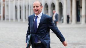 A reckoning: As Taoiseach, Micheál Martin faces a series of challenges in the post-Covid world. Photo: Niall Carson/PA Wire