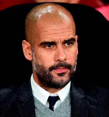 Pep Guardiola has reportedly told friends that he could join Manchester United Photo: Adam Davy/PA Wire.