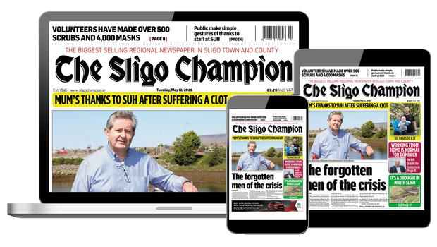 The Sligo Champion is now available as an ePaper