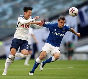 Séamus Coleman and Everton have already claimed the scalp of Tottenham away from home