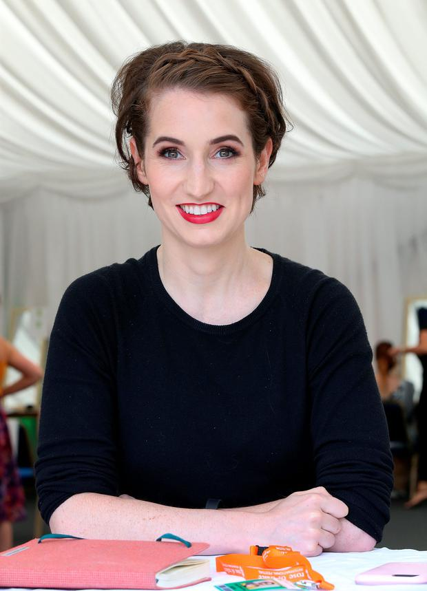 Kirsty Blake Knox pictured with her Rose of Tralee style makeup and hair do, at the festival in Tralee. Picture Credit: Frank McGrath