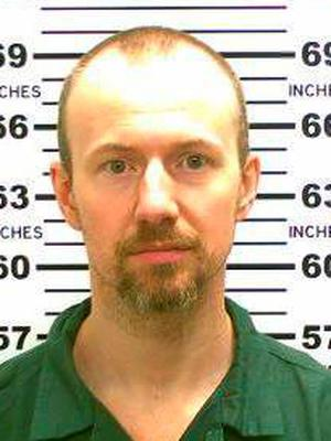 FILE - This May 21, 2015, file photo released by the New York State Police shows David Sweat. Richard Matt, one of two convicted killers who staged a brazen escape from an upstate maximum-security prison and had been hunted for three weeks was shot and killed Friday, June 26, 2015, but the other, Sweat, is still on the run. (New York State Police via AP, File)