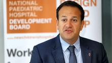 Health minister Leo Varadkar; Ireland's cancer services are set to be scrutinised this week. Photo: Conor McCabe