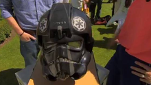 The TIE fighter pilot helmet featured on Antiques Roadshow was from the set of the 1977 Star Wars film - the first in the series - and was one of only 12 made