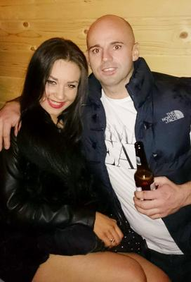 Abducted: Willie Maughan and his Latvian girlfriend Ana Varslavane went missing on April 14, 2015 in Gormanston, Co Meath