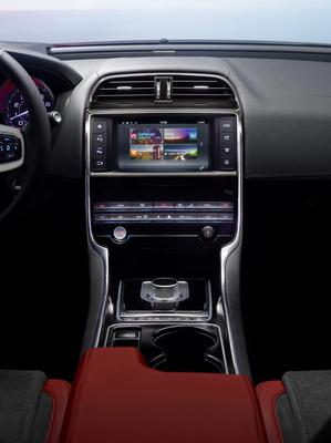 The interior of the new Jaguar XE. Photo: Jaguar Land Rover/PA Wire