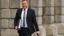 Minister Michael McGrath said he is working on the assumption there will be a no deal Brexit at the end of the year. (Niall Carson/PA)