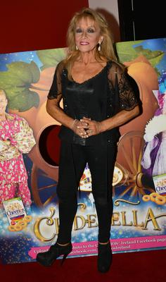 Twink at  the opening night of the Cinderella panto at the Tivoli Theatre