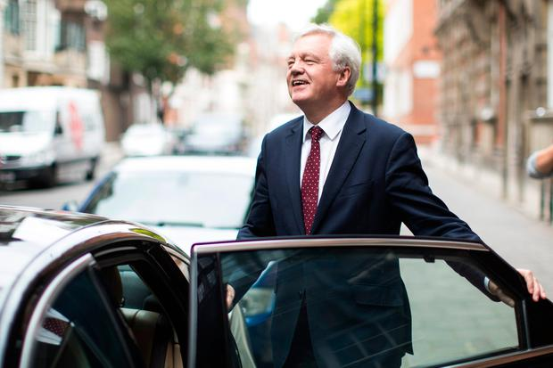 British Brexit minister David Davis Picture: Getty