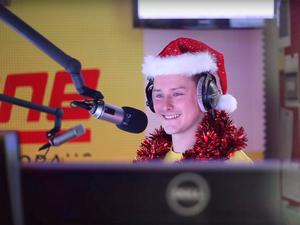 Joe Kohlhofer's co-host and producers were locked out of the studio for almost two hours while he played the Last Christmas marathon Antenne Karnten/YouTube
