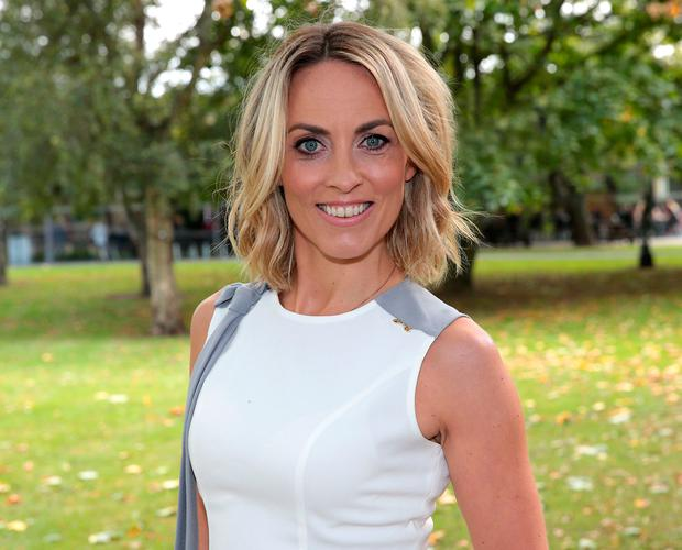 Kathryn Thomas at the launch of the search for leaders of Operation Transformation Series 10.