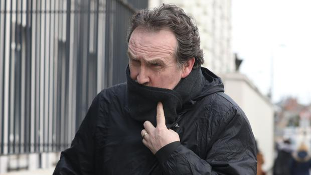 Retired Garda, Thomas Fay pictured leaving the Four Courts after a High Court Garda Compensation hearing.Pic: Collins Courts