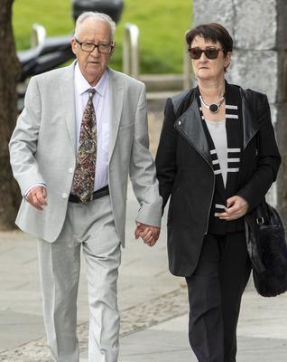 Ana's parents Patric and Geraldine. Photo: Collins Courts