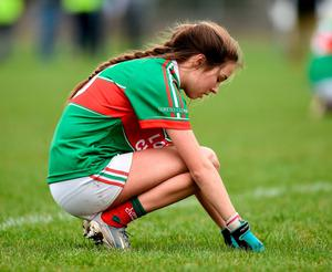 Loreto Clonmel's Niamh Martin after the 2018 final defeat that her school were hoping to rectify this year. Photo: Sportsfile