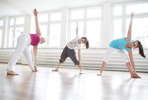 Classes can be a great way to get fit and get healthy with a group. Picture posed