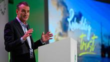 Neutral stance: BP's new CEO Kerry-born Bernard Looney has set out an ambitious plan to tackle the energy firm's carbon emissions. Photo: DANIEL LEAL-OLIVAS / AFP