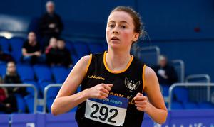 Healy will now target the 1,500m at the European U-20 Championships in Sweden next week. Photo: Sam Barnes/Sportsfile